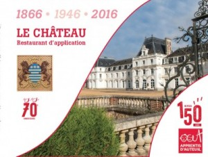 150 ans Apprentis d'Auteuil_Restaurant d'application Château des Vaux