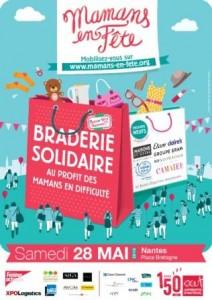 Affiche-Nantes_Mamans en fête_braderie solidaire
