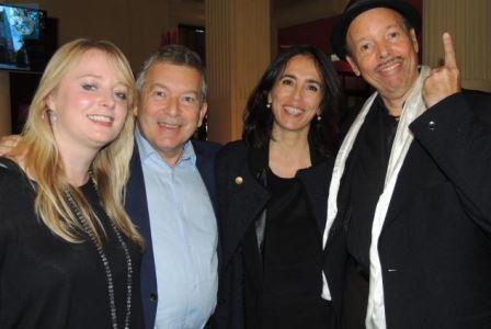 Georgina Jackson, Jean-Philippe Vidal, Véronika Rodriguez et Cab Calloway Junior