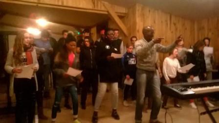 Atelier de chant Africain