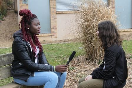 Interview pour notre film