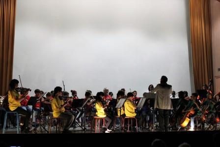 Concert de l'école primaire Notre-Dame du Bon Accueil (44)