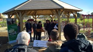 La Fondation Georges Truffaut soutient le projet d'arboretum au lycée Sainte Jeanne d'Arc