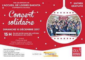 Affiche concert Bakhita