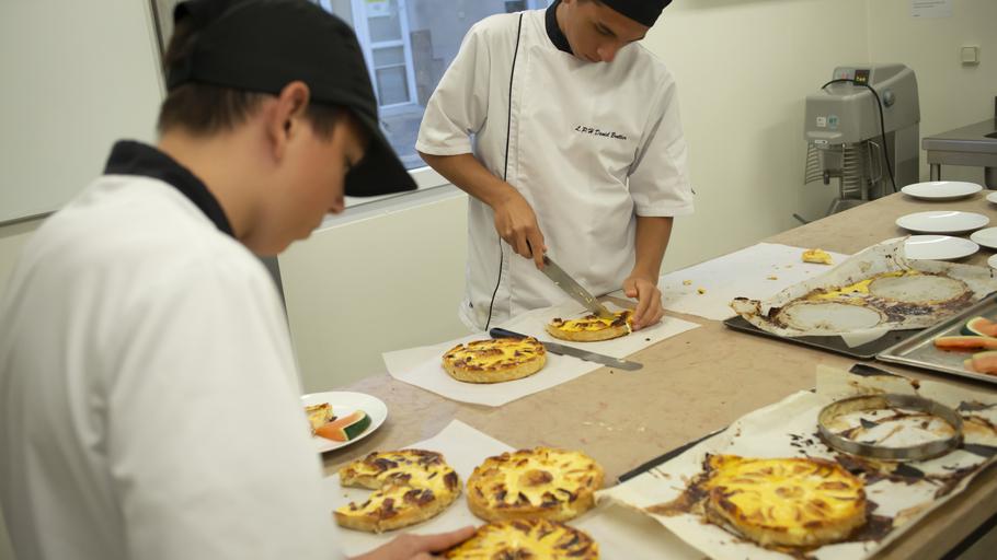 Lycée professionnel hôtelier Daniel Brottier- Bac Pro cuisine