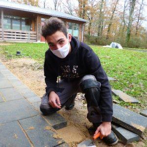 parcours élève Lucas lycée agricole Daniel Brottier